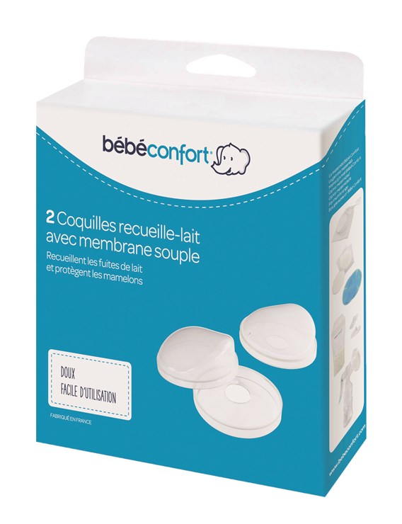 Bébé Confort 2 pcs Milk Collection Containers  nádoba na zbieranie mlieka, mušľa - Brendon - 116585