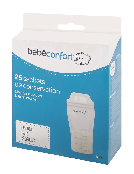 Bébé Confort 25 pcs Milk Conservation Bags.  sáčky na uskladnenie mrazenie materského mlieka - Brendon - 116587