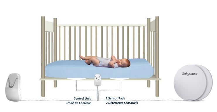 Babysense 7  légzésfigyelő - Brendon - 118292