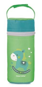 "Canpol babies Bottle insulator ""Toys"" green cumisüvegtartó termosz - Brendon - 118343"