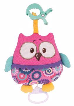 Canpol babies Forest Friends Pink felhúzós zenélő - Brendon - 118387