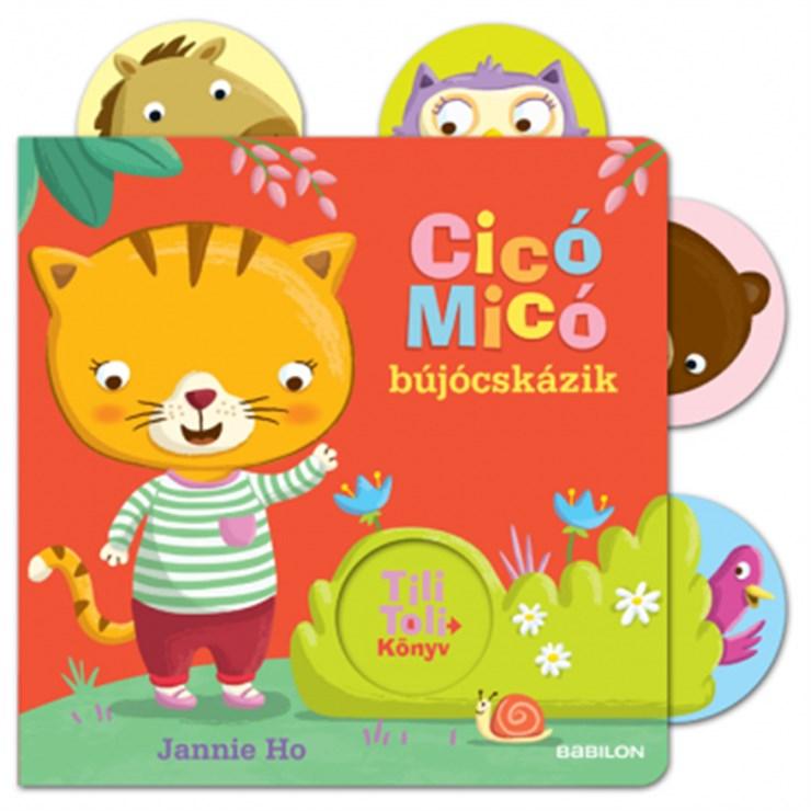 Babilon Tili-toli Cicó Micó bújócskázik  gyerekkönyv - Brendon - 118405