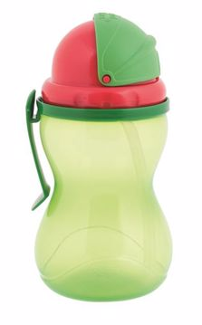 Canpol babies Sport cup with straws Green kulacs - Brendon - 118615
