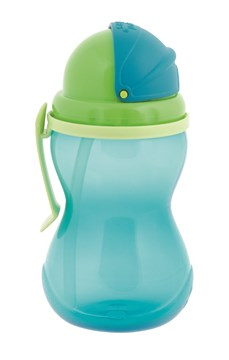Canpol babies Sport cup with straws Blue kulacs - Brendon - 118617