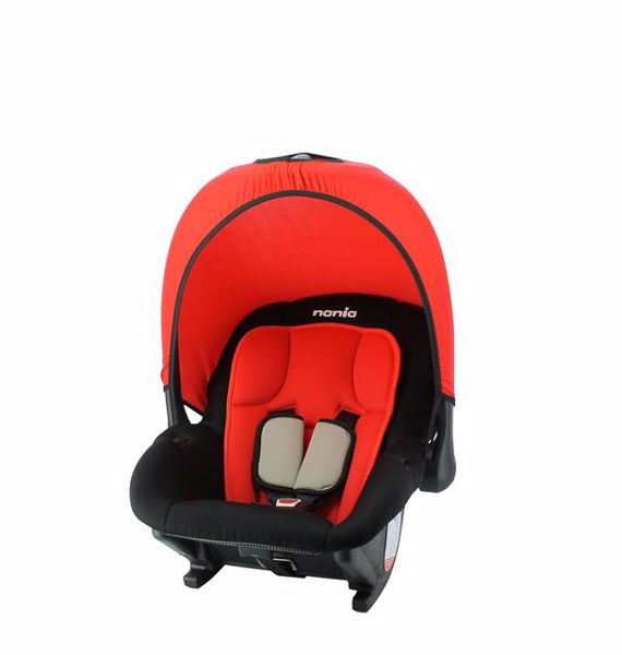 Nania Baby Ride Eco Red hordozó 0-13 kg - Brendon - 118694