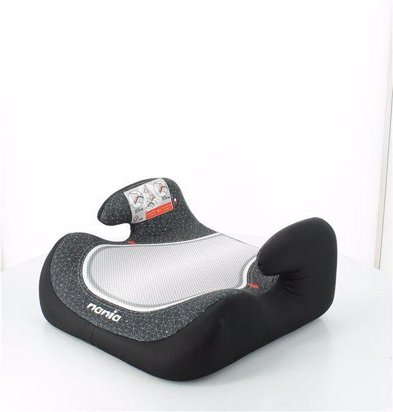 Nania Topo Comfort First Skyline Black ülésmagasító 15-36 kg-ig - Brendon - 118728