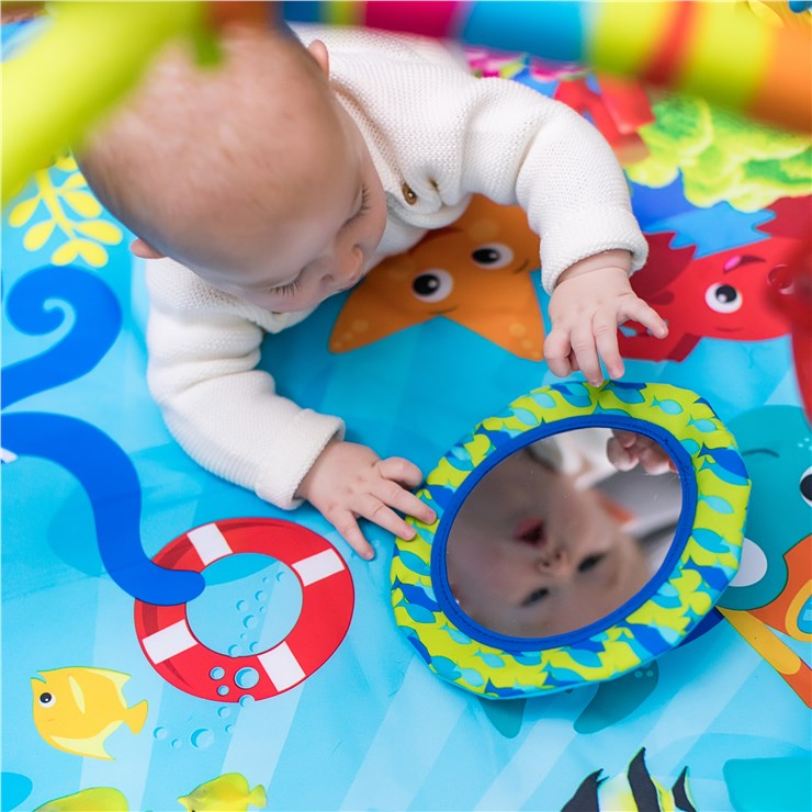Baby Einstein Nautical Friends Play Gym  játszószőnyeg bébitornázóval - Brendon - 118769