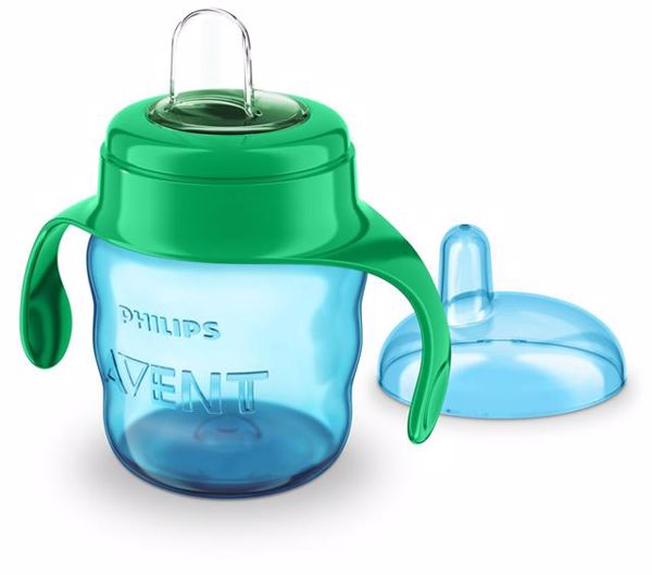 Philips AVENT Magic with handle 6m+ 200ml Green itatópohár - Brendon - 119192