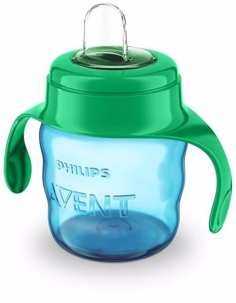 Philips AVENT Magic with handle 6m+ 200ml Green itatópohár - Brendon - 119194