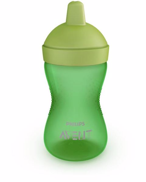 Philips AVENT Magic with soft spout 12m+ 300ml Green itatópohár - Brendon - 119225