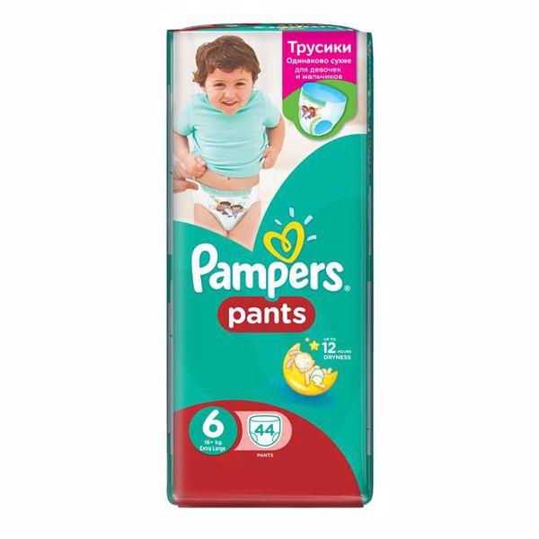 Pampers Pants Jumbo Pack 6 XL 44 pcs  plienkové nohavičky - Brendon - 120242
