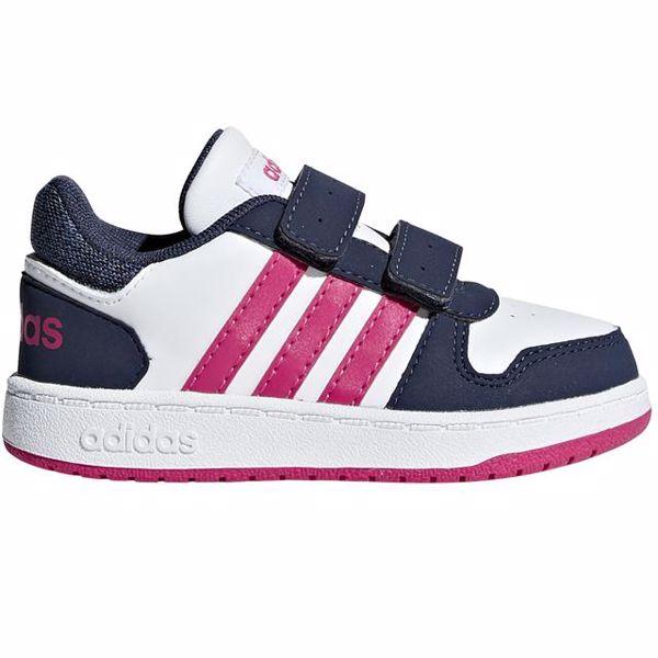adidas BB7334 White-Black-Pink sportcipő - Brendon - 121437