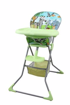 Touragoo Binge Green/Safari etetőszék műanyag - Brendon - 124473