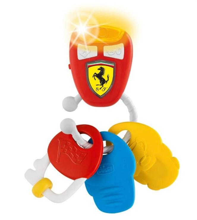 Chicco Ferrari Electronic Keys  hrkálka - Brendon - 125514