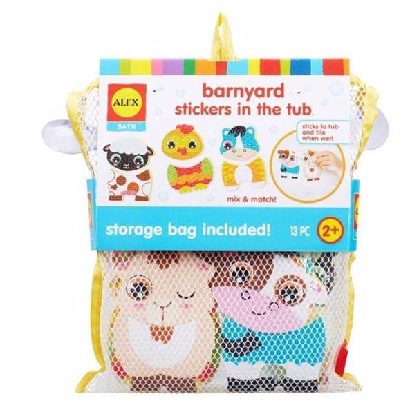 Alex Stickers For The Tub Farm Friends  hračka do vody - Brendon - 125954