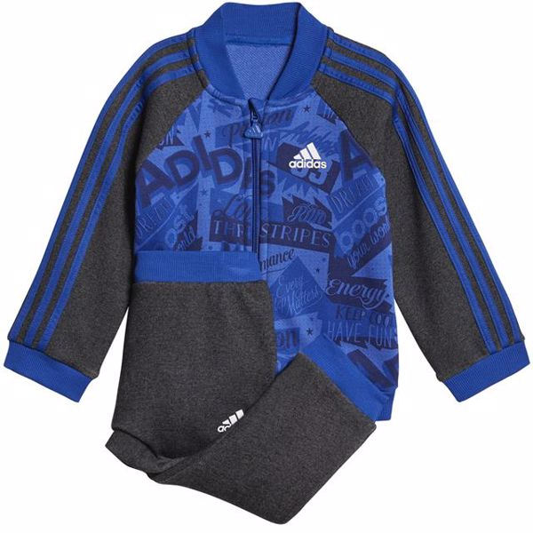 adidas DJ1559 Grey-Blue jogging - Brendon - 127298