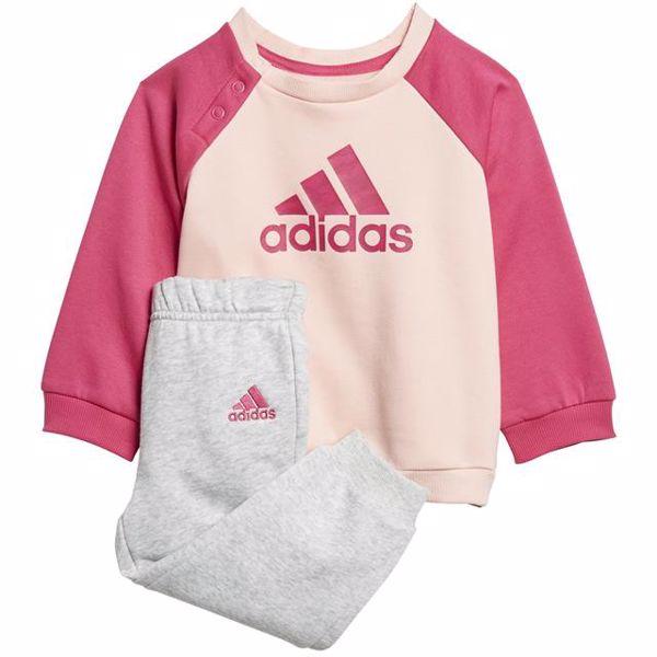 adidas DJ1576 Rose-Pink-Grey jogging - Brendon - 127330