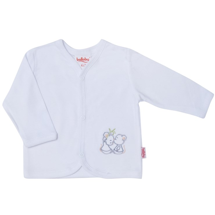 Bollaby Forli G/O White Mice kocsikabát pamut - Brendon - 128145
