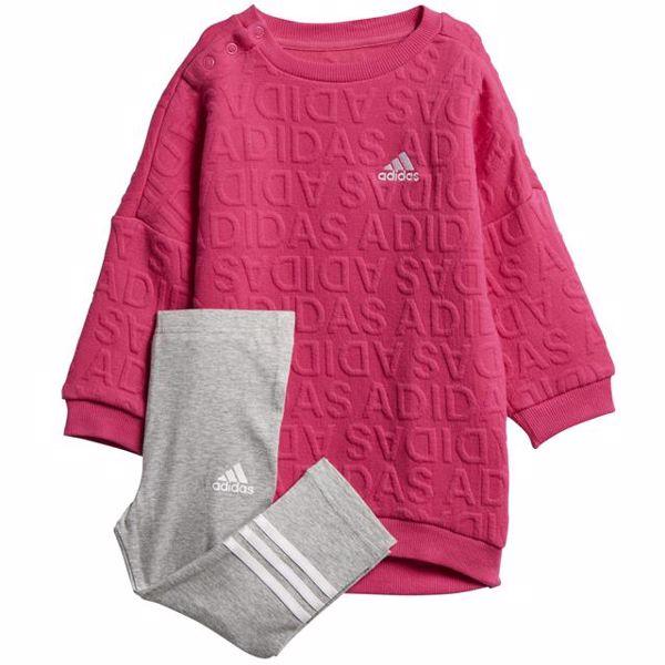 adidas DJ1557 Pink-Grey jogging - Brendon - 128290