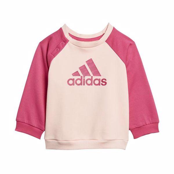adidas DJ1576 Rose-Pink-Grey jogging - Brendon - 128337