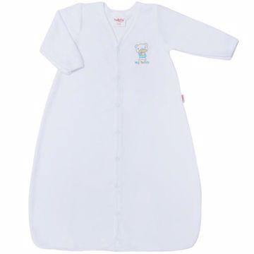 Bollaby Siracusa PLHU White plyšový spací vak - Brendon - 129153