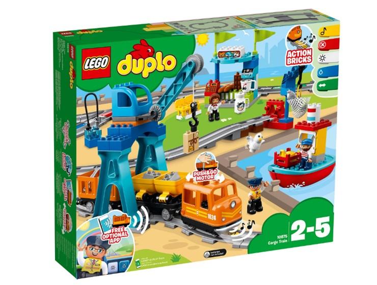 LEGO DUPLO Cargo Train 10875  építőjáték - Brendon - 130960