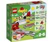 LEGO DUPLO Train Tracks 10882  építőjáték - Brendon - 130991