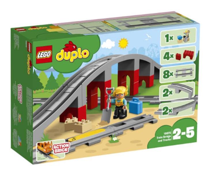 LEGO DUPLO Train Bridge and Tracks 10872  építőjáték - Brendon - 130994