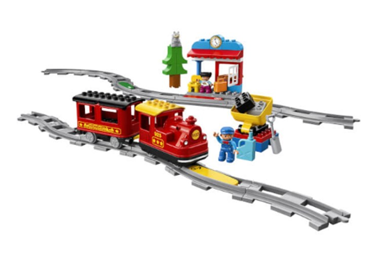 LEGO DUPLO Steam Train 10874  építőjáték - Brendon - 130995