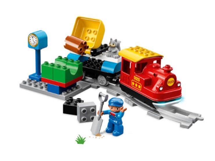 LEGO DUPLO Steam Train 10874  építőjáték - Brendon - 130997