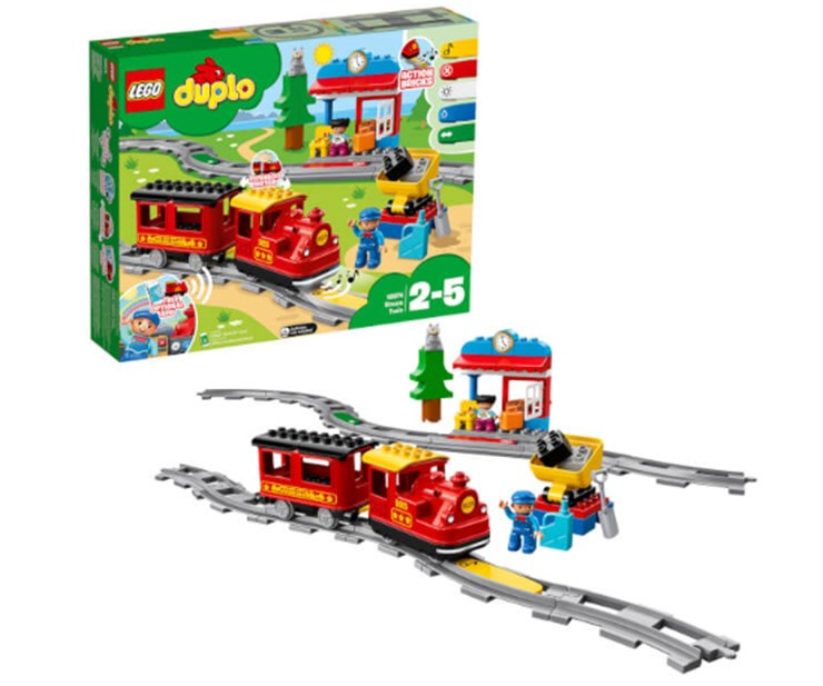 LEGO DUPLO Steam Train 10874  építőjáték - Brendon - 130998