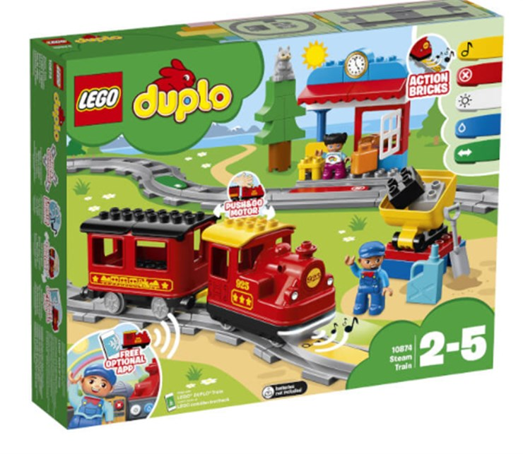 LEGO DUPLO Steam Train 10874  építőjáték - Brendon - 130999