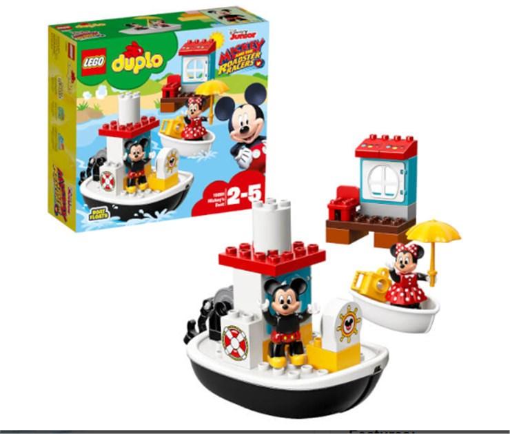 LEGO DUPLO Mickey's Boat 10881  építőjáték - Brendon - 131001