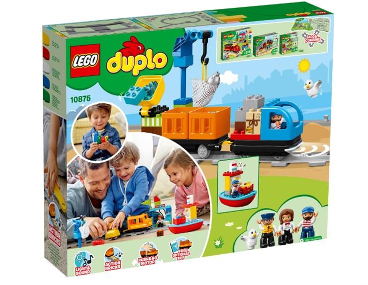 LEGO DUPLO Cargo Train 10875  építőjáték - Brendon - 131007