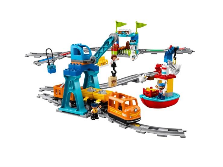 LEGO DUPLO Cargo Train 10875  építőjáték - Brendon - 131008