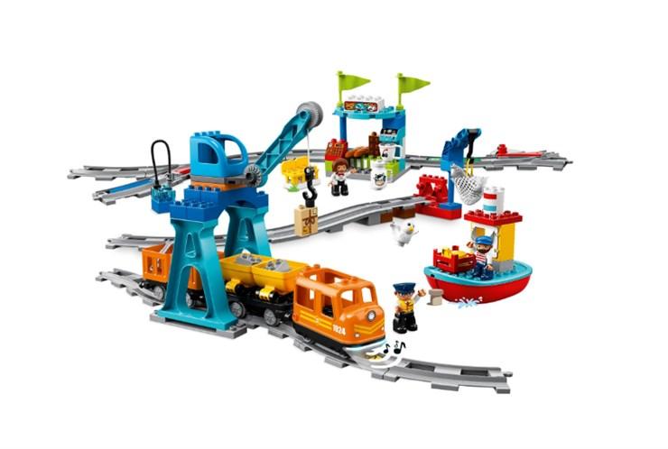 LEGO DUPLO Cargo Train 10875  építőjáték - Brendon - 131009