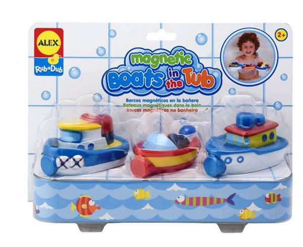 Alex Magnetic Boats In The Tub  loďka - Brendon - 131646