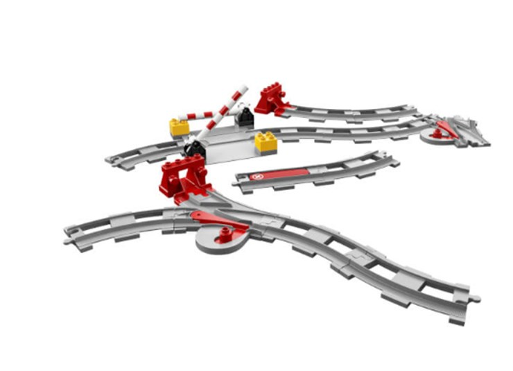 LEGO DUPLO Train Tracks 10882  stavebnica - Brendon - 131990