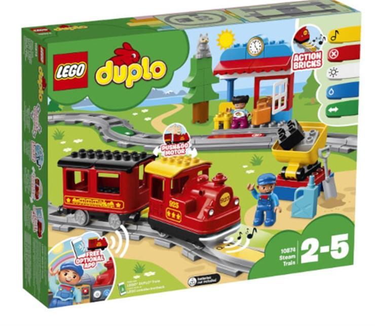 LEGO DUPLO Steam Train 10874  stavebnica - Brendon - 131999
