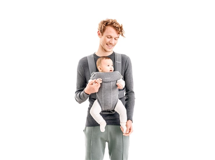 BabyBjörn Mini Light Grey kenguru - Brendon - 133731