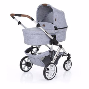 ABC Design Salsa 4 with Carrycot Graphite Grey babakocsi - Brendon - 134201