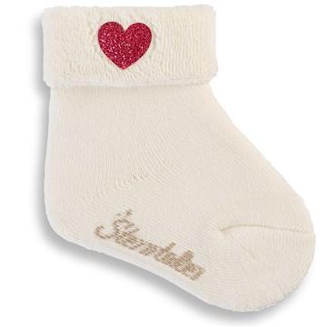 Sterntaler 8301400 903 Offwhite ponožky - Brendon - 134598