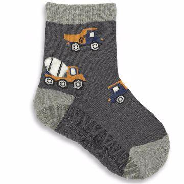 Sterntaler 8131804 592 Anthracit ponožky - Brendon - 134604