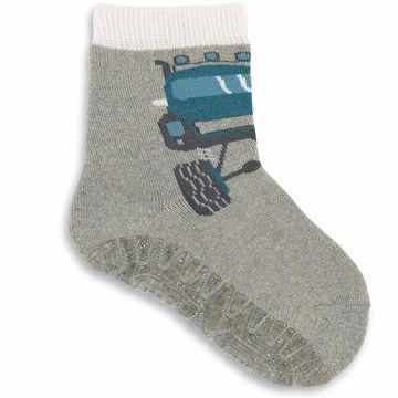 Sterntaler 8141806 542 Grey Melnage ponožky - Brendon - 134606