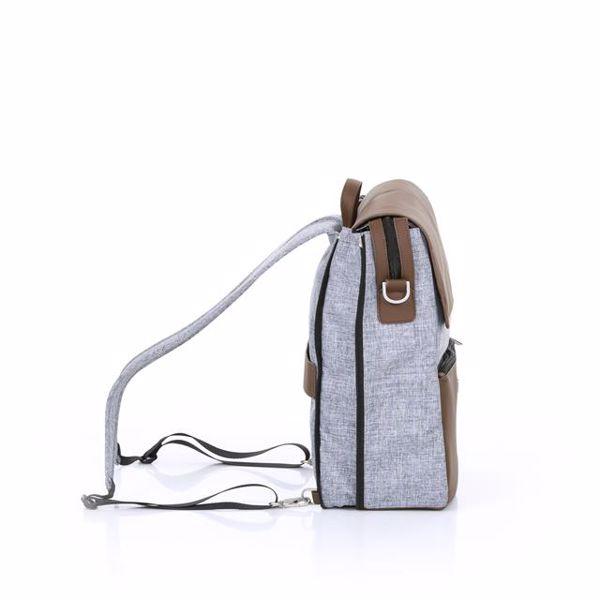 ABC Design Backpack City Graphite Grey hátizsák - Brendon - 136381