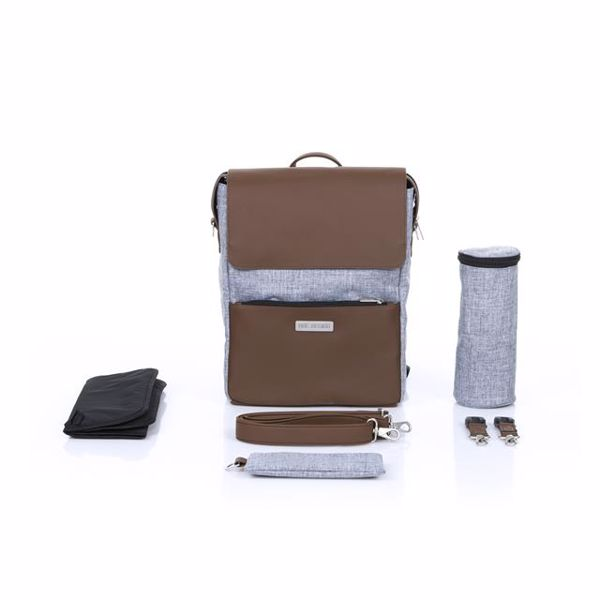 ABC Design Backpack City Graphite Grey hátizsák - Brendon - 136382