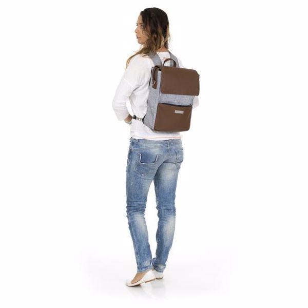 ABC Design Backpack City Graphite Grey hátizsák - Brendon - 136386
