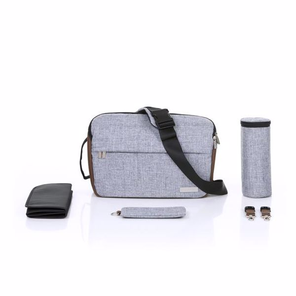 ABC Design Shoulder Bag Slide Graphite Grey pelenkázótáska - Brendon - 136426