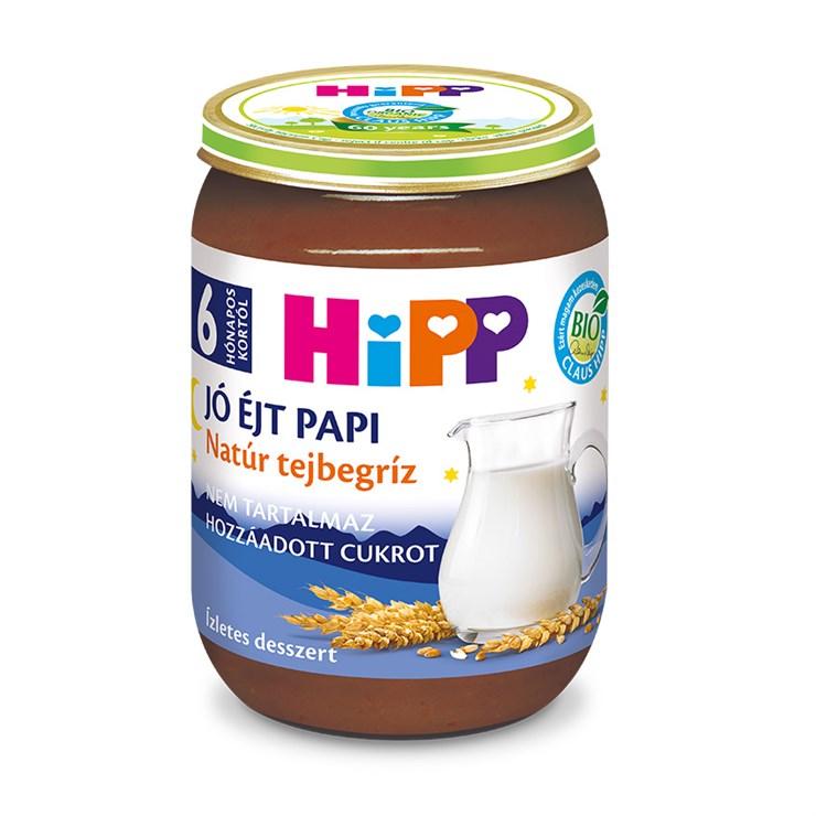 Hipp Jó éjt papi Natúr tejbegríz 190g  babadesszert - Brendon - 136803