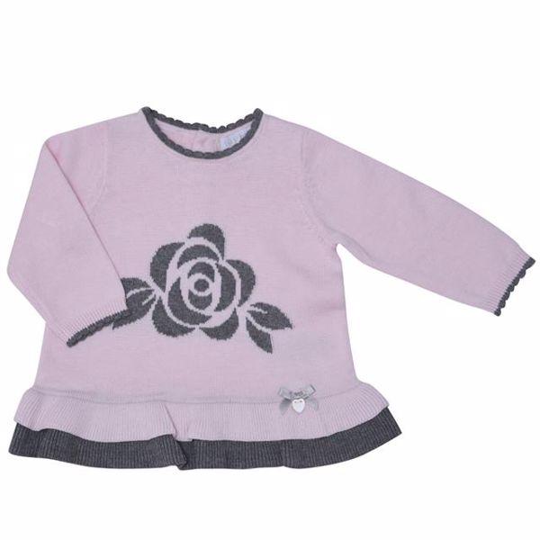 Bluesbaby PP0173/2pcs Pink Grey nadrágos csecsemőgarnitúra - Brendon - 137201